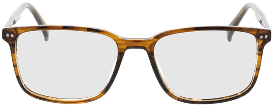 Picture of glasses model Pico-braun-meliert in angle 0