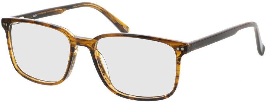 Picture of glasses model Pico-brun marbré in angle 330
