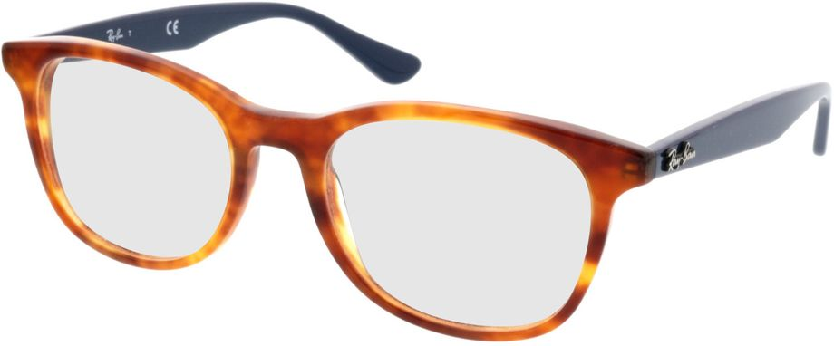 Picture of glasses model Ray-Ban RX5356 5609 52-19 in angle 330