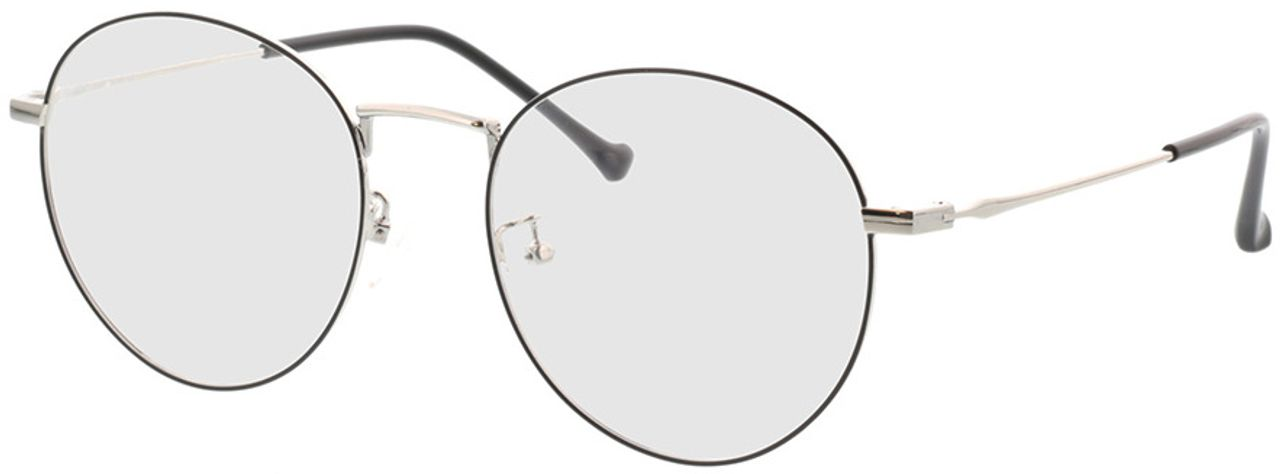 Picture of glasses model Eden-schwarz/silber in angle 330