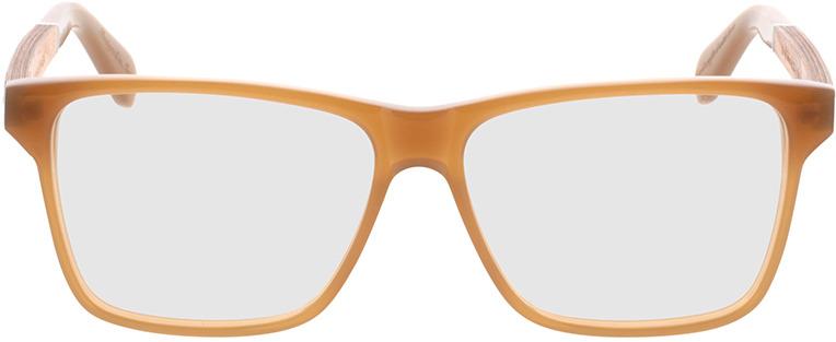 Picture of glasses model Wood Fellas Optical Waldau zebrano/light castanho 53-12 in angle 0