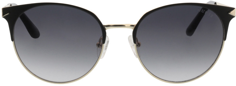 Picture of glasses model Guess GU7516 02B 53-18 in angle 0