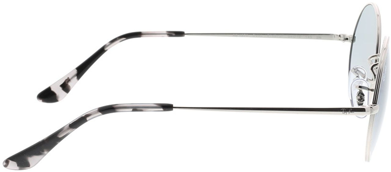 Picture of glasses model Ray-Ban RB1970 91493F 54-19 in angle 90
