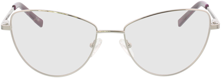 Picture of glasses model Elea-silber in angle 0