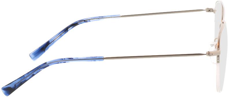 Picture of glasses model Dreros-matt silber in angle 90