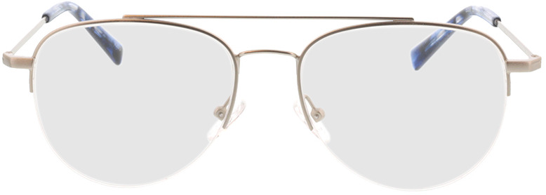 Picture of glasses model Dreros-matt silber in angle 0