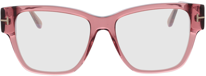 Picture of glasses model Tom Ford FT5745-B 072 54 in angle 0