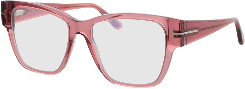 Picture of glasses model Tom Ford FT5745-B 072 54 in angle 330