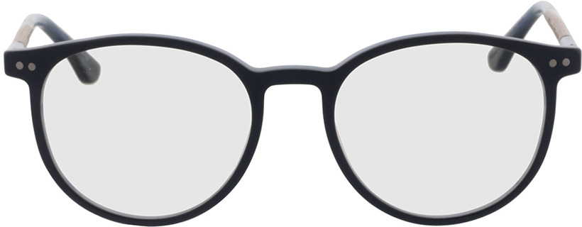Picture of glasses model Wood Fellas Optical Point macassar/blue 50-18 in angle 0