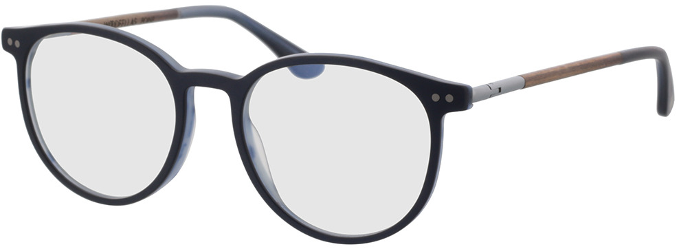 Picture of glasses model Wood Fellas Optical Point macassar/blue 50-18 in angle 330