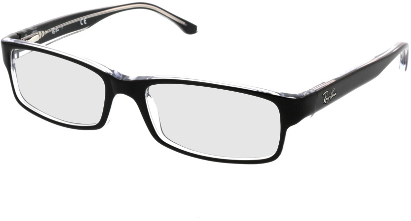 Picture of glasses model Ray-Ban RX5114 2034 52-16 in angle 330