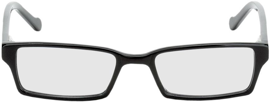 Picture of glasses model Bauru zwart in angle 0
