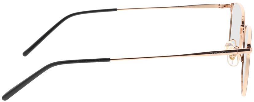Picture of glasses model Bolon BJ7118 B12 52-18 in angle 90