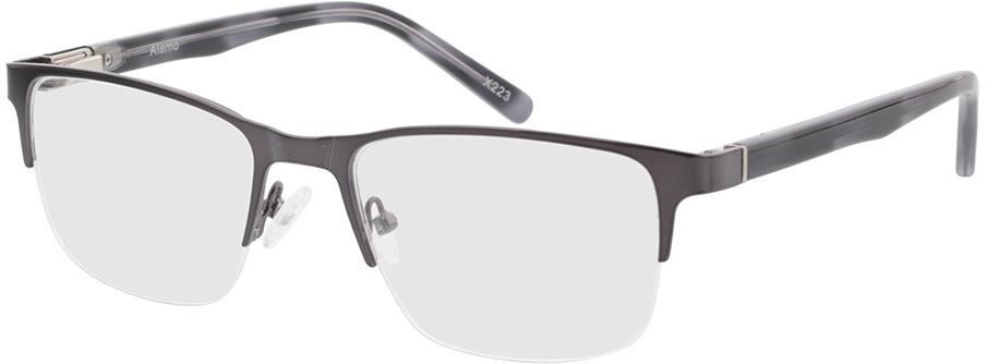Picture of glasses model Alamo-anthrazit/grau in angle 330