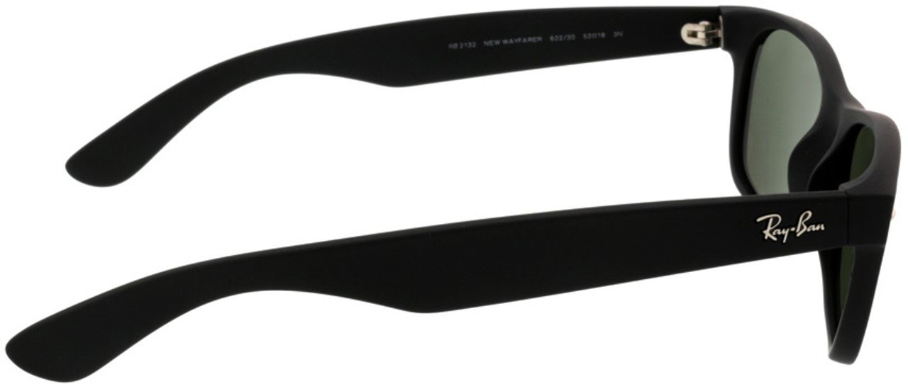 Picture of glasses model Ray-Ban New Wayfarer RB2132 622/30 52-18 in angle 90