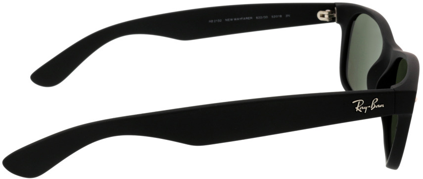 Picture of glasses model Ray-Ban New Wayfarer RB2132 622/30 52 18 in angle 90
