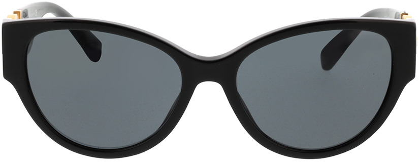 Picture of glasses model Versace VE4368 GB1/87 56-17 in angle 0