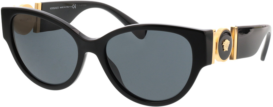 Picture of glasses model Versace VE4368 GB1/87 56-17 in angle 330