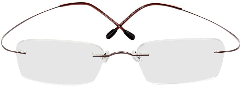 Picture of glasses model Mackay-braun in angle 0