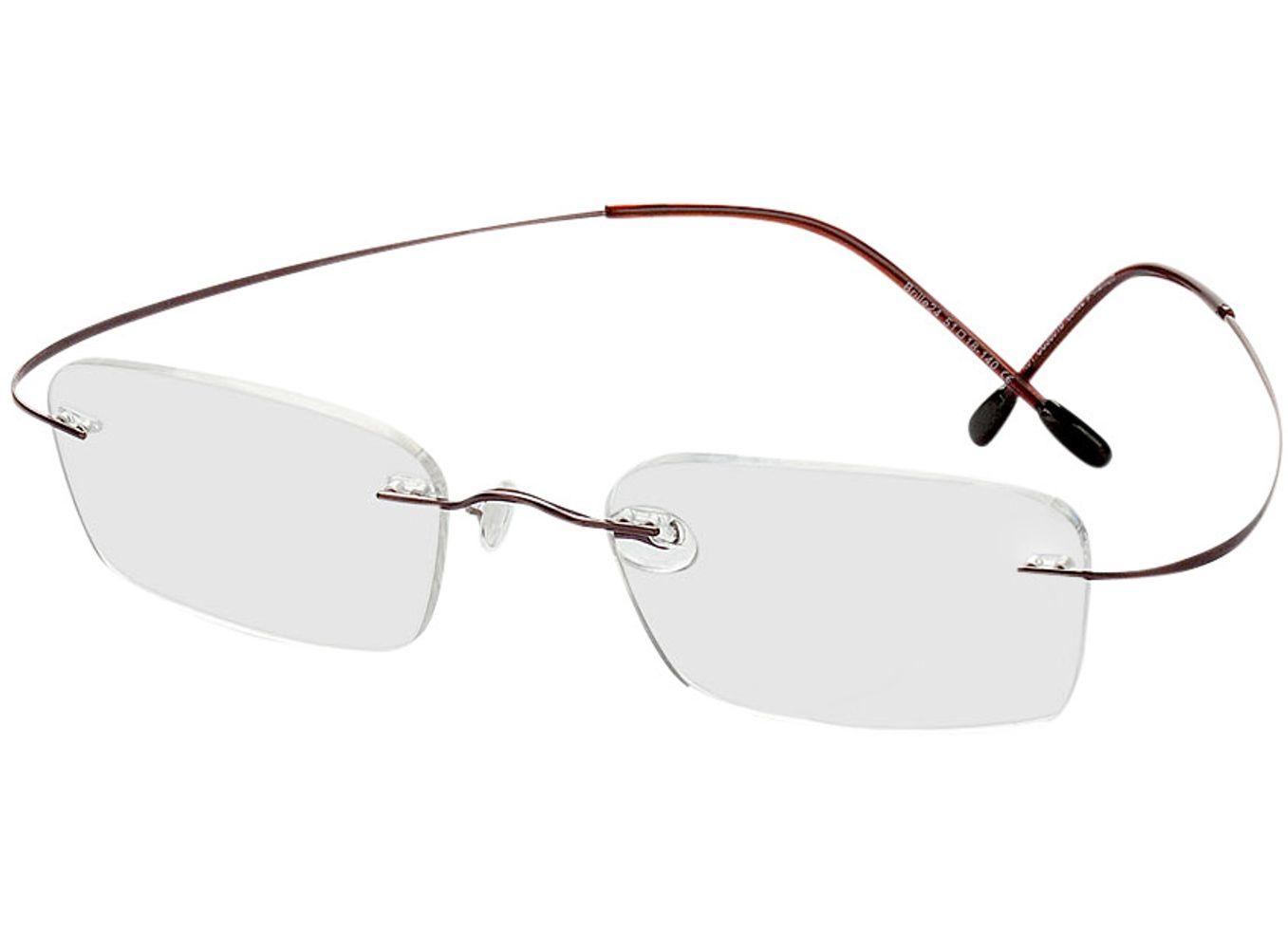 1095-singlevision-0000 Mackay-braun Gleitsichtbrille, Randlos, Rechteckig Brille24 Collection