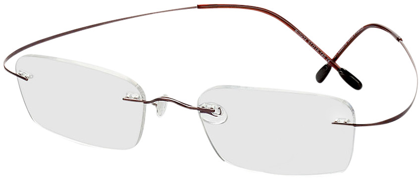 Picture of glasses model Mackay brown in angle 330
