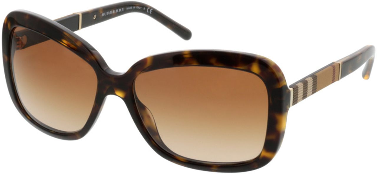 Picture of glasses model Burberry BE4173 300213 58-15 in angle 330