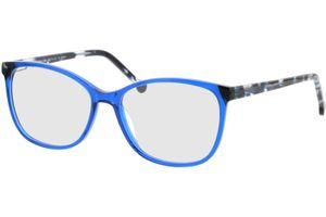 Nowra-blau/blau-meliert