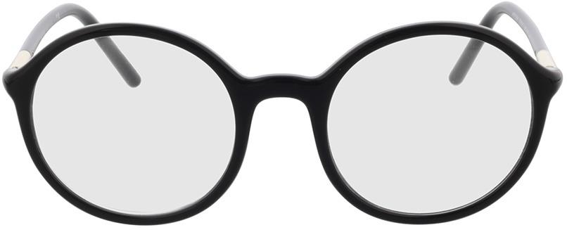 Picture of glasses model Prada PR 09WV 1AB1O1 50 in angle 0