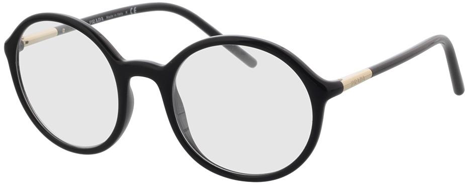 Picture of glasses model Prada PR 09WV 1AB1O1 50 in angle 330