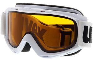 Skibrille Slider White/Lasergold Lite