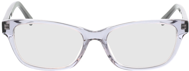 Picture of glasses model Aurie-grau transparent in angle 0