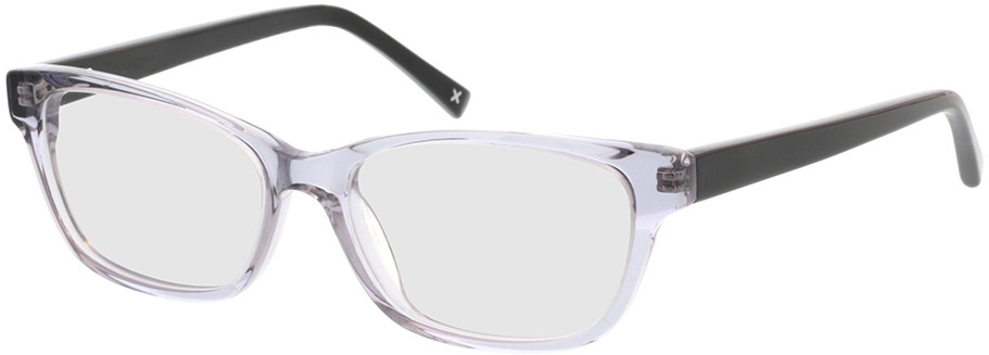 Picture of glasses model Aurie-grau transparent in angle 330