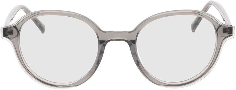 Picture of glasses model Vasio grijs transparant in angle 0
