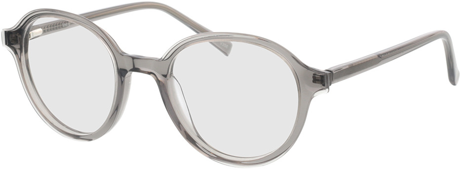 Picture of glasses model Vasio grijs transparant in angle 330