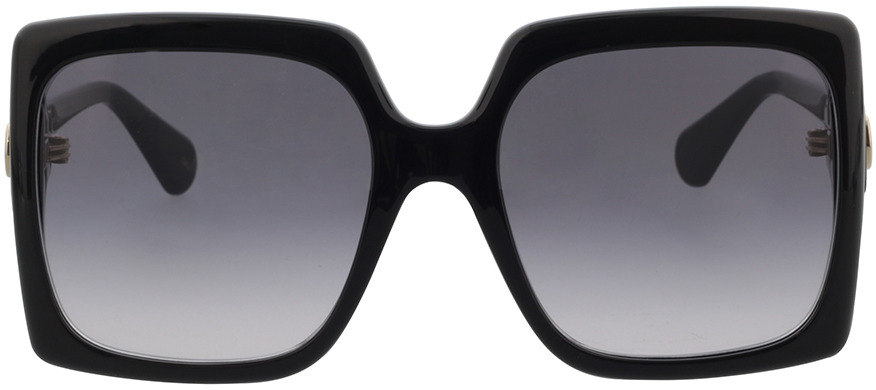 Picture of glasses model Gucci GG0876S-001 60-20 in angle 0