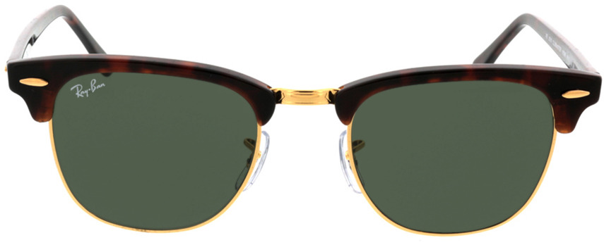 Picture of glasses model Ray-Ban Clubmaster RB3016 W0366 49-21 in angle 0