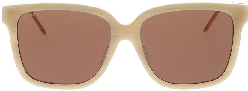 Picture of glasses model Gucci GG0599SA-005 56-16 in angle 0