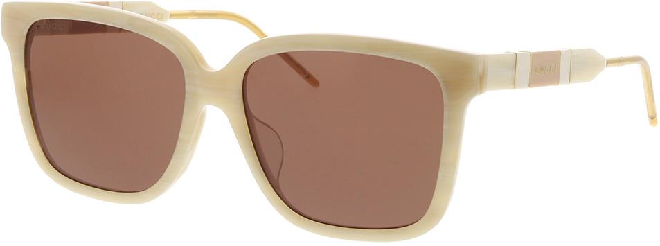 Picture of glasses model Gucci GG0599SA-005 56-16 in angle 330