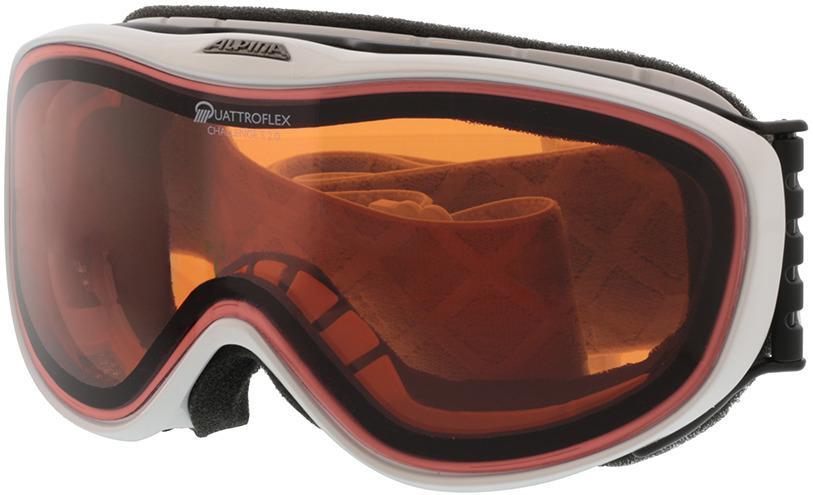 Picture of glasses model Alpina Skibrille CHALLENGE S 2.0 white QH in angle 330