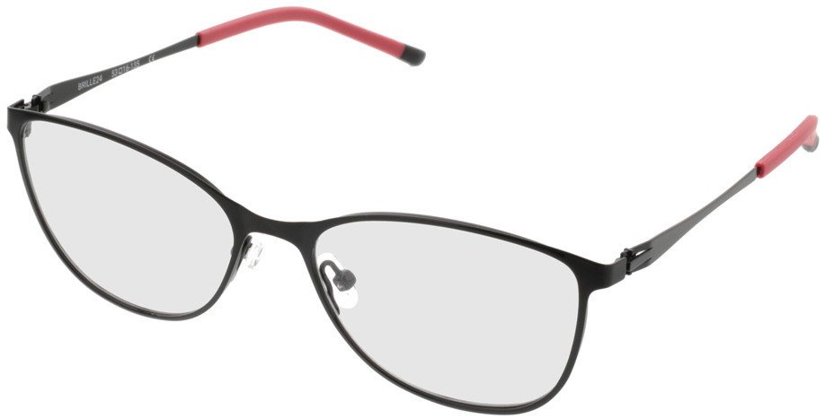 Picture of glasses model Gizeh-schwarz/rot in angle 330