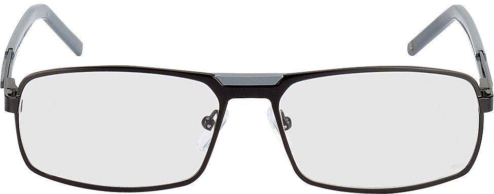 Picture of glasses model Durban-schwarz/grau in angle 0