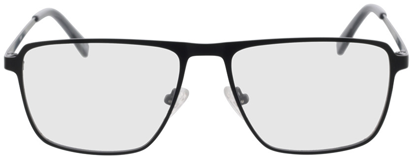 Picture of glasses model Ryde-schwarz in angle 0