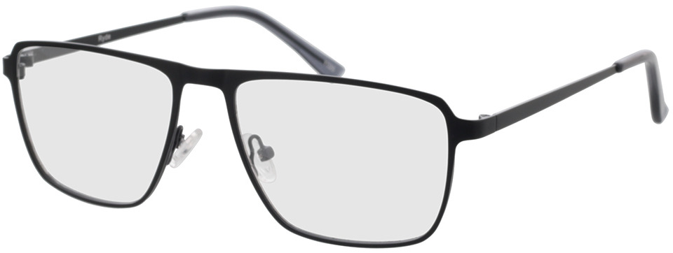 Picture of glasses model Ryde-schwarz in angle 330