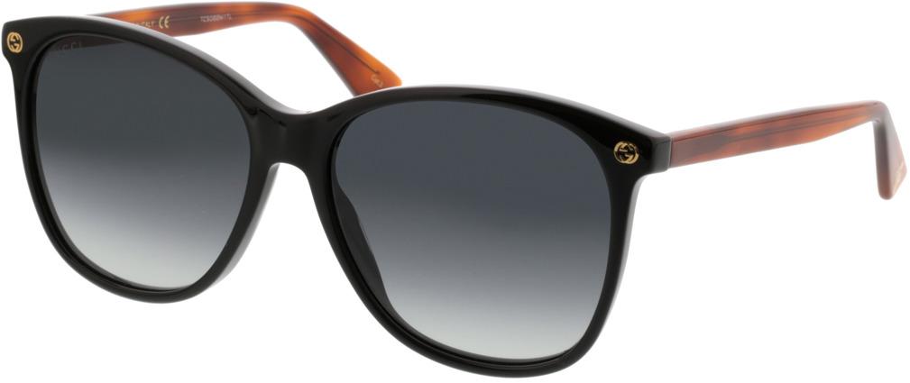 Picture of glasses model Gucci GG0024S-003 58-16