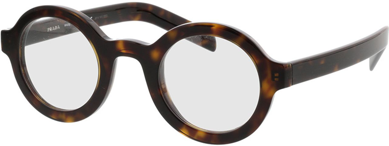 Picture of glasses model Prada PR 01XV 2AU1O1 43-26 in angle 330