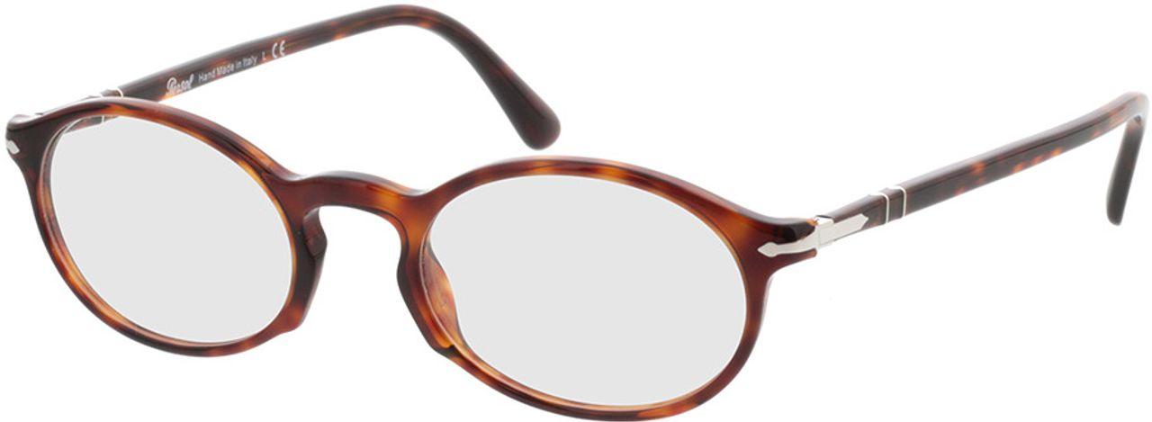 Picture of glasses model Persol PO3219V 24 50-20 in angle 330