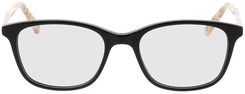 Picture of glasses model Cara-schwarz/beige in angle 0