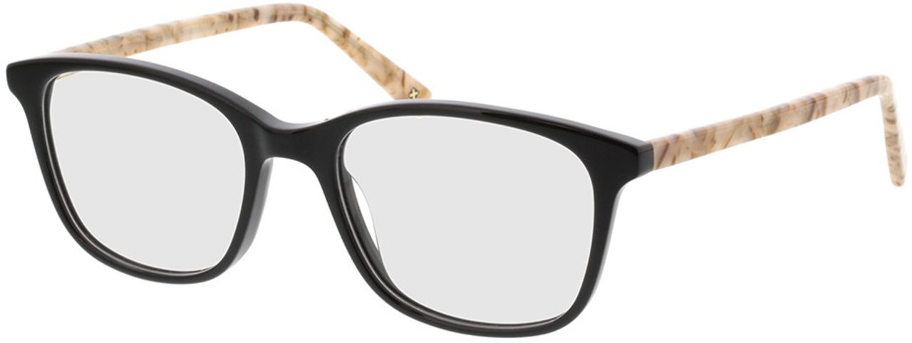 Picture of glasses model Cara-schwarz/beige in angle 330