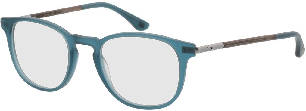 Picture of glasses model Wood Fellas Optical Irenic walnut/indigo 49-21 in angle 330