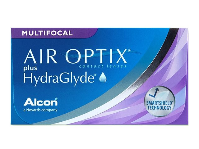 AIR OPTIX® plus HydraGlyde MULTIFOCAL 6er Box
